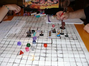 Dungeons and Dragons in Action